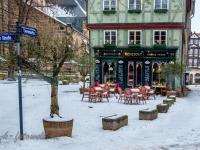 Welterbestadt Quedlinburg im Winter mit Schnee Winterimpressionen_DSF8679