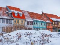 Welterbestadt Quedlinburg im Winter mit Schnee Winterimpressionen_DSF8684_HDR-Bearbeitet