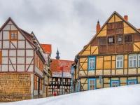 Welterbestadt Quedlinburg im Winter mit Schnee Winterimpressionen_DSF8688_HDR-Bearbeitet