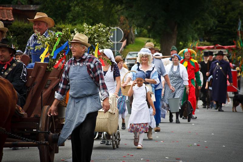 Fotos der 1050 Jahrfeier in Siptenfelde / harz