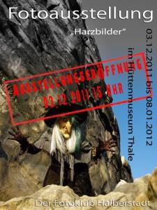 Ausstellung Harzbilder