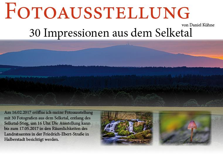 Fotoausstellung 30 Impressionen vom Selketal-Stieg